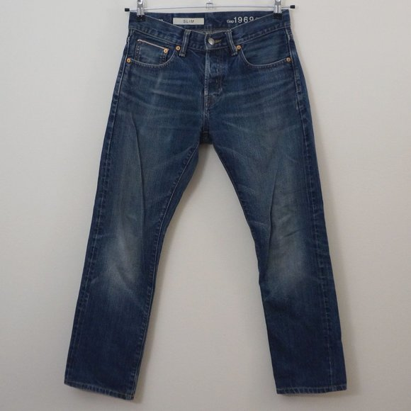 GAP Other - 3/$20 GAP Men's Jeans Japanese Selvedge Slim 28x30